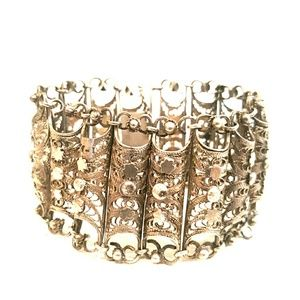 Vintage sterling ornate bracelet